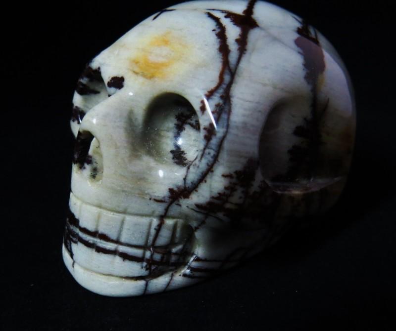 Mookaite Jasper Skull (3)