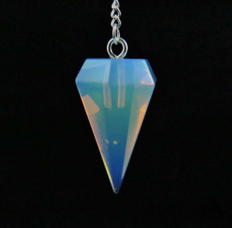 Opalite Quartz Pendulum